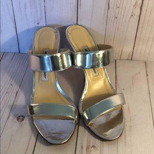 Manolo Blahnik Slide Sandals